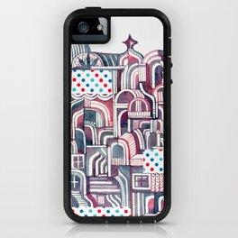 Maroon Castle iPhone Case