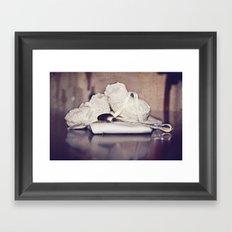Silver Spoon  Framed Art Print