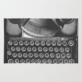 Vintage Typewriter - Before Email Rug