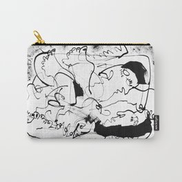 Dancing Forever - b&w Carry-All Pouch