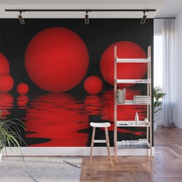 spheres and reflections -102- Wall Mural
