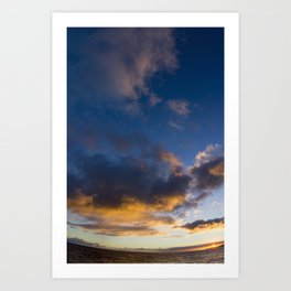 Kauai Sunset - Makahuena Point Art Print