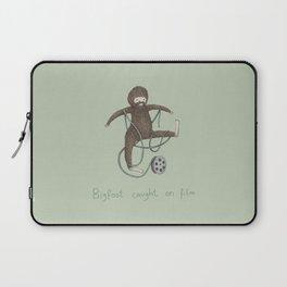 Bigfoot Caught on Film Laptop Sleeve
