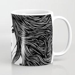 Long Hair Coffee Mug