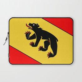 Bern Bear - Swiss City and Canton Crest Laptop Sleeve