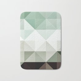 Apex geometric II Bath Mat