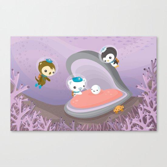 The Octonauts Pearl Rescue Canvas Print