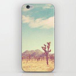 Joshua Tree photograph, desert print, No. 189 iPhone Skin