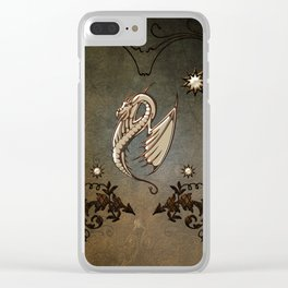 Awesome chinese dragon Clear iPhone Case