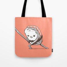 Samurai sushi - Salmon Tote Bag