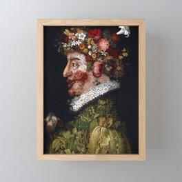 Giuseppe Arcimboldo Spring Framed Mini Art Print