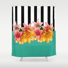Leticia Ka 10 Shower Curtain