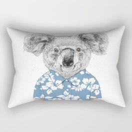 Summer koala (color version) Rectangular Pillow