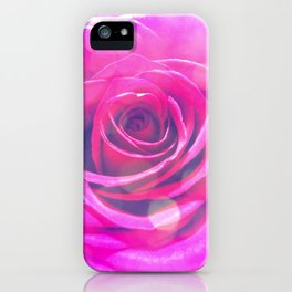 Transcendent Rose iPhone Case