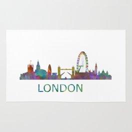 London UK Skyline HQ Rug