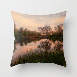 Embrace the Autumn Throw Pillow