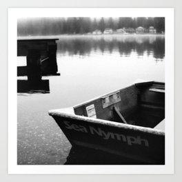 Mason Lake: SeaNymph Art Print