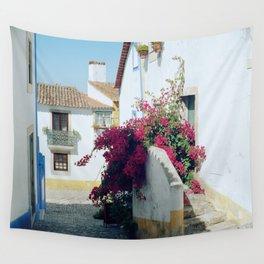 Portugal, Obidos (RR 185) Analog 6x6 odak Ektar 100 Wall Tapestry