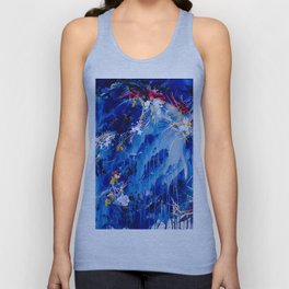 As The Universe Falls Together Unisex Tank Top