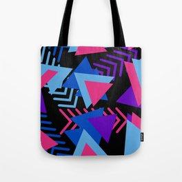 80s Memphis Pattern Tote Bag