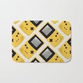 Gameboy Color: Yellow (Pattern) Bath Mat