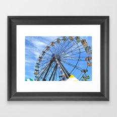 Fun Wheel Framed Art Print