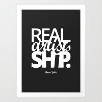 Real Artists Ship Art Print