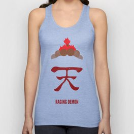 Akuma - Raging Demon Unisex Tank Top