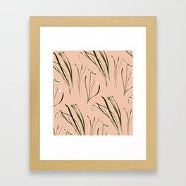 GALANTHUS Framed Art Print