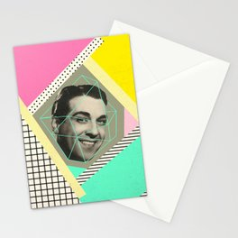 caged man, mariano Stationery Cards