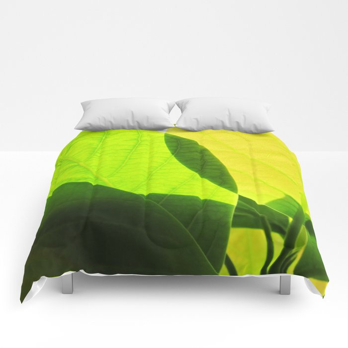 Avocado Leaves Comforters