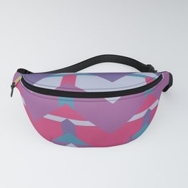 Cool Waves #society6 #violet #pattern Fanny Pack
