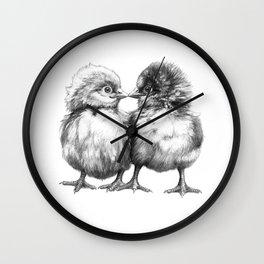 Baby Chicks - Little Kiss G133 Wall Clock