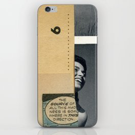 The source of madness iPhone Skin