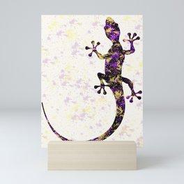 Abstract Lizard Mini Art Print
