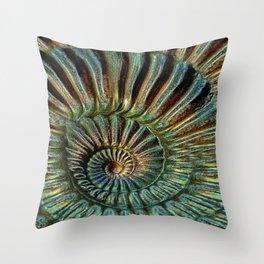 snake-stone Throw Pillow