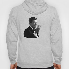 President Reagan Making A Toast Hoody