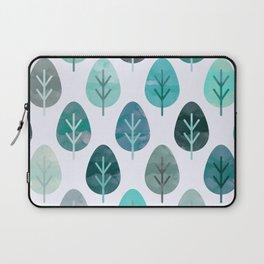 Watercolor Forest Pattern #6 Laptop Sleeve