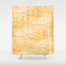 Rain of stars in yellow Shower Curtain