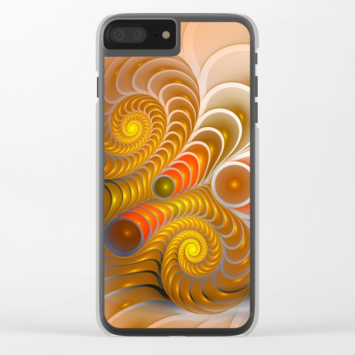 golden turns Clear iPhone Case