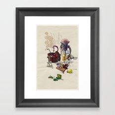 W.I.P. Framed Art Print