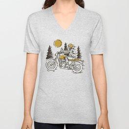 Classic Biker Unisex V-Neck