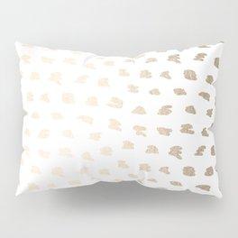Golden Hot Spots Pillow Sham