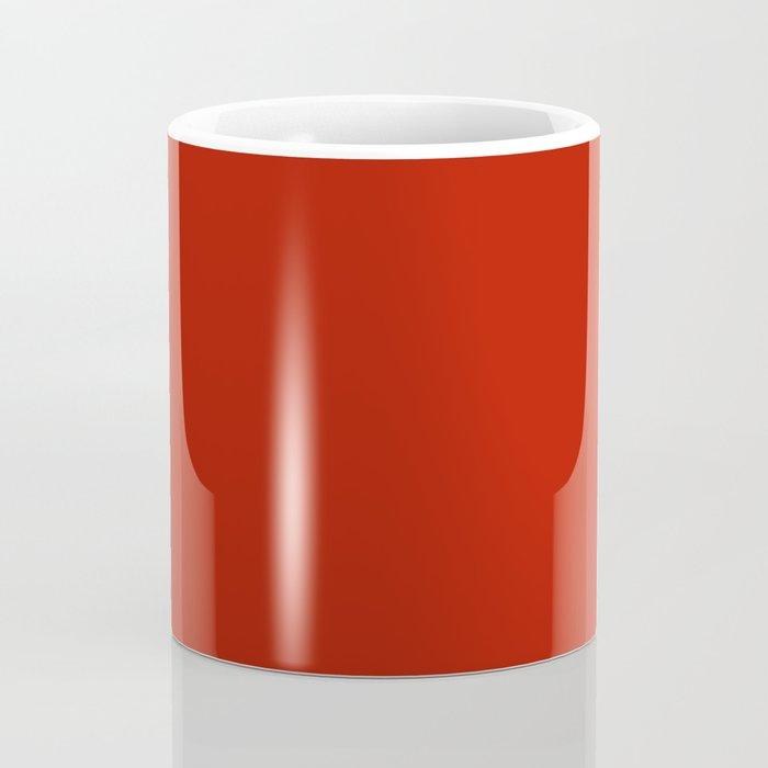 Tomato sauce - solid color Coffee Mug