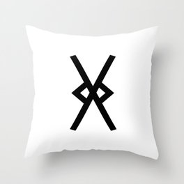Spear of Odin Throw Pillow
