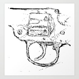 Free Trial Offer (BW) Art Print