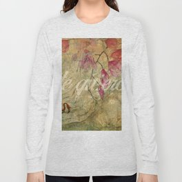 abstarct art te quiero Long Sleeve T-shirt