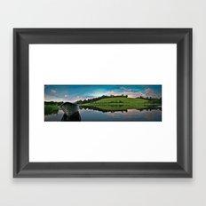 Lake Placid Framed Art Print