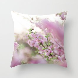 Spring in Pink #2 Throw Pillow