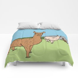 Llama-rama Comforters